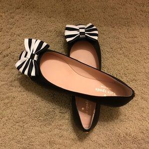 Kate Spade ♠️ ballerina bow flats